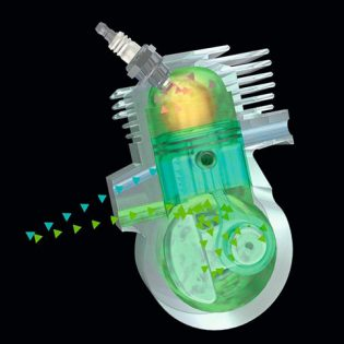 Slika STIHL 2-MIX motor s predispiranjem